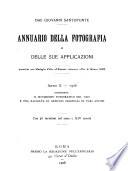 Annuario della fotografia e delle sue applicazioni