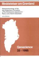 Palaeoentomology of the Kap Kobenhavn Formation, a Pilo-Pleistocene secquence in Peary Land, North Greenland