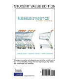 Student Value Edition for Business Statistics