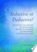 Inductive or Deductive