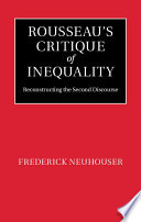 Rousseau s Critique of Inequality