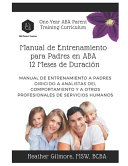 One Year Aba Parent Training Curriculum Spanish Version