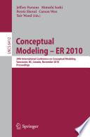 Conceptual Modeling Er 2010