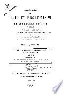 Recueil des lois et r  glements sur l enseignement sup  rieur  comprenant les d  cisions de la jurisprudence et les avis des conseils de l instruction publique et du Conseil d   tat  1789 1914