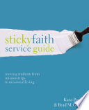 Sticky Faith Service Guide