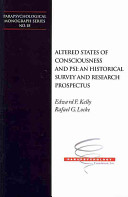Altered States of Consciousness and PSI