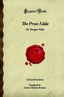The Prose Edda Or Younger Edda book