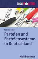Parteien und Parteiensysteme in der Bundesrepublik Deutschland