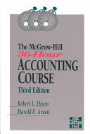 The McGraw Hill 36 hour Accounting Course
