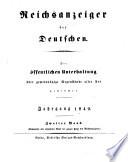 Reichsanzeiger der Deutschen