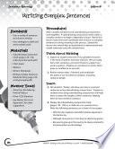 Writing Lesson Level 4--Writing Complex Sentences