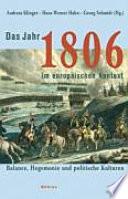Das Jahr 1806 im europäischen Kontext