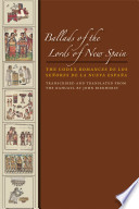 Ballads of the Lords of New Spain