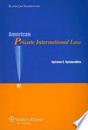American Private International Law