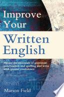 Improve Your Written English