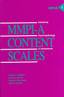Mmpi A Content Scales