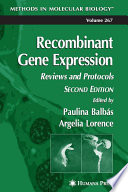 Recombinant Gene Expression Free download PDF and Read online