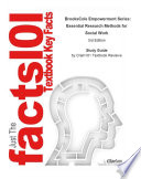 BrooksCole Empowerment Series  Essential Research Methods for Social Work