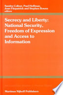 Secrecy and Liberty