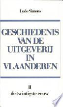 Geschiedenis van de uitgeverij in Vlaanderen