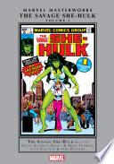 Savage She Hulk Masterworks Vol  1 Book PDF