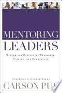 Mentoring Leaders