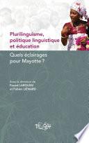 Plurilinguisme  politique linguistique et   ducation