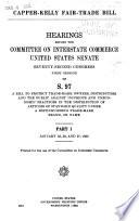 Capper Kelly Fair Trade Bill Book PDF