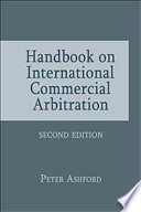 Handbook on International Commercial Arbitration