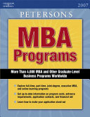 Peterson s MBA Programs