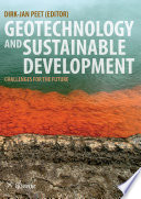 Geotechnology And Sustainable Development book