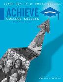 Achieve College Success