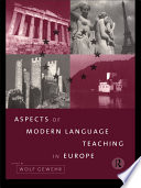 Aspects of Modern Language Teaching in Europe