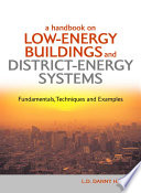 A Handbook on Low Energy Buildings and District Energy Systems