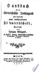 Handbuch für die Österreichische Landjugend