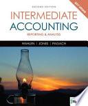 Intermediate Accounting  Reporting and Analysis  2017 Update