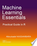 Machine Learning Essentials: Practical Guide in R