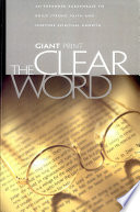 Clear Word Giant Print