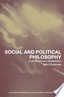 Social And Political Philosophy : a liberal paradigm that has dominated political thought...