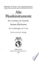 Alte Musikinstrumente