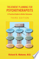 Treatment Planning for Psychotherapists  Third Edition