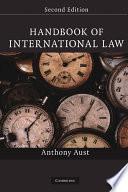 Handbook of International Law