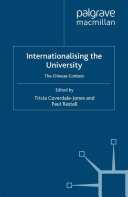 Internationalising the University Book
