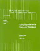 Applied Statistics for the Behavioral Sciences