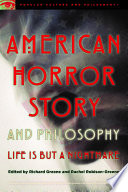 American Horror Story and Philosophy
