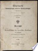 Bericht über die Verhandlungen des Krainischen Landtages zu Laibach