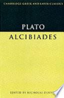 Plato  Alcibiades
