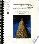 Deschutes National Forest  N F    Deadlog Vegetation Management Project