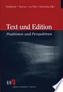 Text und Edition