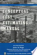Conceptual Cost Estimating Manual